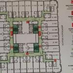Layout of executive floor