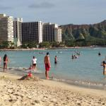 Waikiki beach at Sheraton