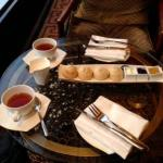 English afternoon tea in Vegas