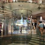 Don't you love the translucent staircase in the original applestore in Wangfujing?