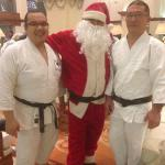 Christmas with Aikido friends at Sari Pan Pacific