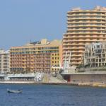 Hotel Fortina from habour