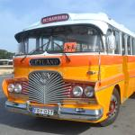 At least one old Maltese bus