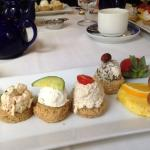 Part of the afternoon tea service