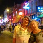 Friends at Beale Street