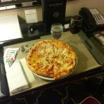 The infamous $45 cold pizza