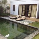 Our private swimming pool