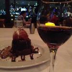 our dessert and port