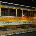 Trolley car in the museum.