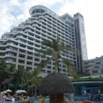 Hotel from pool