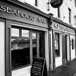 O'Dowds Seafood Bar and Restaurant, Roundstone, Galway on the Wild Atlantic Way.