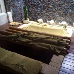 One-of-a-kind SPA treatment, Segara Giri or Foot Steaming, where they use mineral-rich Volcanic