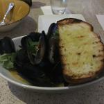 Mussel Monday - all you can eat!  VERY GOOD