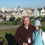 Eli took this picture for us at the painted ladies.
