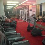 Refurbished Gym facilities on level 5