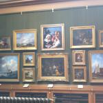 A 'tableau' of paintings.