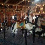 The original testing carousel is open for rides