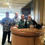 Beachside Bar & Grill staff!