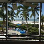 From our room at Pink Shell (Sanibel View Building)