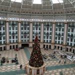 View of the atrium from a balcony room