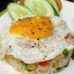 the traditional fried rice breakfast