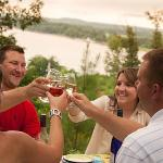 Say cheers with friends at our Riverbluff Cottages!