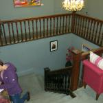 Upper Stairs - lovelly old gallary stairway