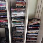 Dvds and player for rent at the hotel. Ask the staff for more info.