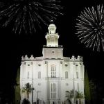 St. George Temple on July 4th