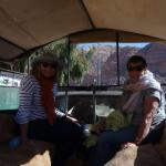 Leaving Wadi Rum Village on Jeep Tour