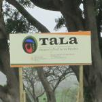 Tala Game Reserve Sign