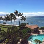 View from our room lanai