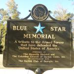 The Blue Star Memorial Marker