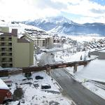 View from the Lodge at Mountaineer Square, Mount Crested Butte