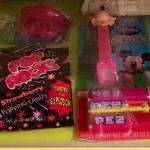 Check out the wax lips, Pez and Pop Rocks in the whimsical minibar.