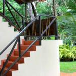 Stairs to the rooms