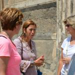 Our guided tour at Pompeii