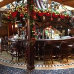 Festive Atmosphere in the Bar