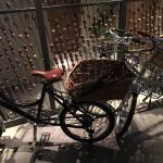 Bicycles for rental at the reception