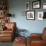Comfortable Leather Chairs in all rooms