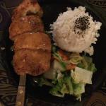 chicken Cordon blue with kalau pork