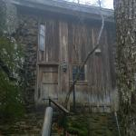 Entrance to the cabin