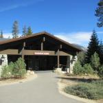 Front of the main lodge