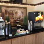 Drink station, free breakfast BWATI 12/9/14