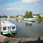 Canal boats at Briare