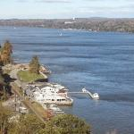 View from the Poughkeepsie side