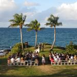 Our incredible view and the wedding