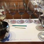 Seven bottle tasting at Viu Manet