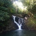 Waterfall along the Rio Panica