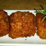 The tater tots make a great appetizer to share. Don't miss these.
